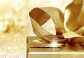 Gold giftbox