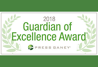 Press Ganey Guardian of Excellence Award