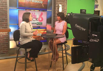 Dr. Amanda Kong on Fox 6