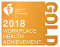 American Heart Association Gold Workplace Achievement