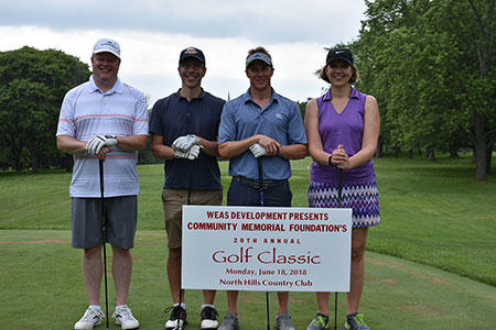 Community Memorial Foundation Golf Classic Foursome