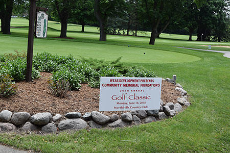 Community Memorial Foundation Golf Classic Sponsor