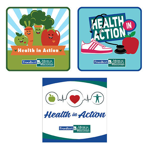 Girl Scout Health In Action Patch Program