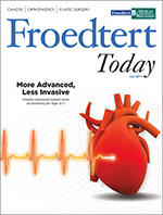 Froedtert Today Cover - July 2019
