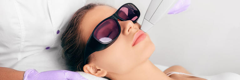 Skin Laser Treatment on Face