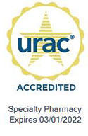 Pharmacy URAC Accreditation Seal