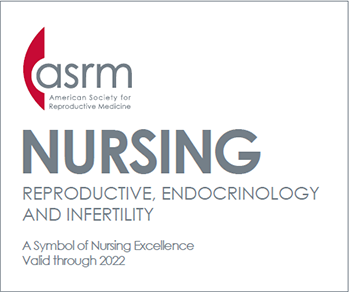 ASRM Nursing Center of Excellence Logo