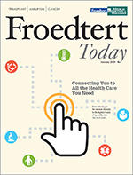 Froedtert Today Cover - January 2019