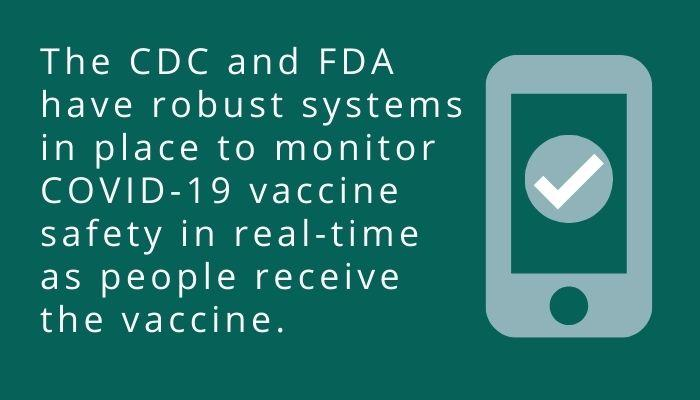 COVID-19 vaccine monitoring tools