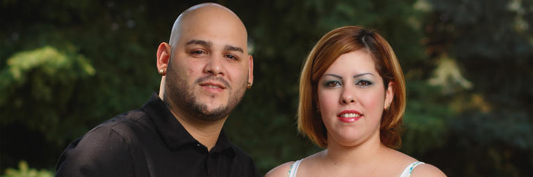 Nelson Ortega Leon and wife Zuleyka
