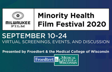 Minority Health Film Festival Event Banner - Sept. 10-24, 2020