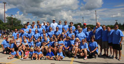 2013 Wheeling for Healing Amy's Team