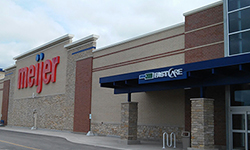 FastCare Sussex Meijer Map image