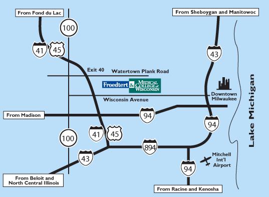 Froedtert Campus Map.Froedtert Hospital Map Rtlbreakfastclub