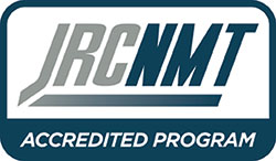 JRCNMT Accredited Program logo