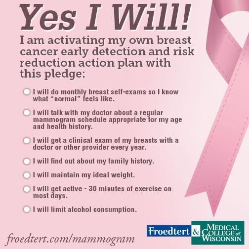 Breast Cancer Pledge