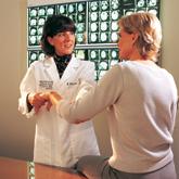 Dr. Blindauer with Patient image