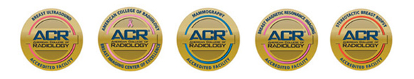 ACR Accreditation Logos for Breast Imaging