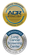 CT and Lung Screening ACR Accreditation Seals