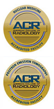Nuclear Medicine and CT ACR Accreditation Seals