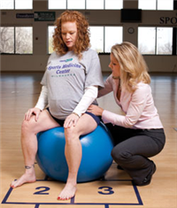 Pregnant Athlete image