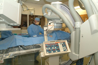 Preparing Patient for Interventional Radiology image