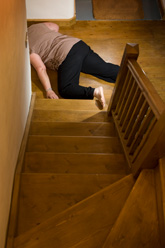 Woman Falling Down Stairs Fall Prevention Froedtert Hospital Milwaukee
