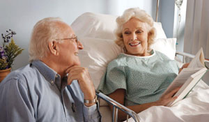 Couple at Hospital image