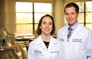 Drs. Colin Mooney and Candice Johnstone